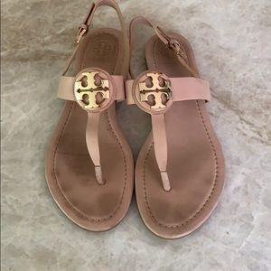 Tory Burch soft pink sandals